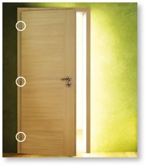 Levé dveře