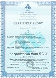 Certifikát DPB3